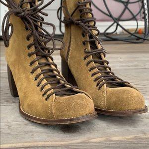 Jeffery Campbell green boots